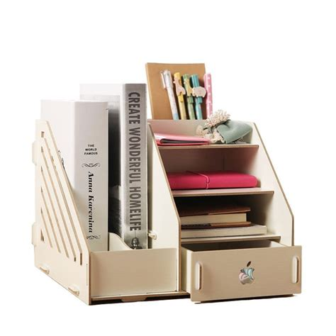 40 Best Images About Wooden Office Storage Box Diy On Desk With Storage Organization