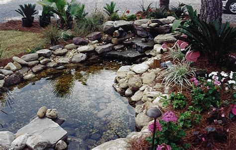 carlile landscaping ponds waterfalls fountains