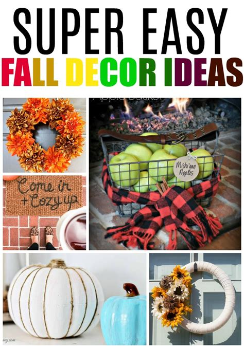 Easy Fall Decorating Ideas by Easy Fall Decor Ideas Can Decorate
