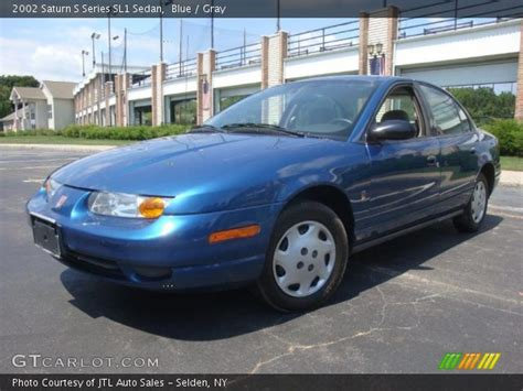 2002 saturn sl1 blue 2002 saturn s series sl1 sedan gray interior