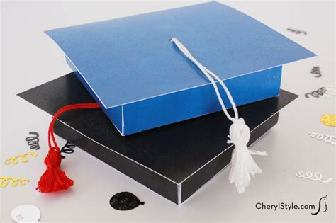 Graduation Gift Card Holder Template - printable graduation gift card holder everyday dishes diy