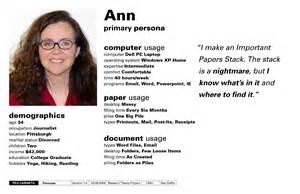 persona templates persona template persona