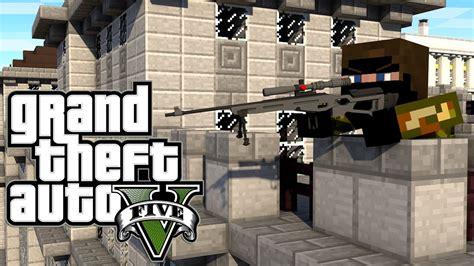 Mod Gta 5 Minecraft Download | quot sniper challenge quot minecraft gta 5 grand theft auto 5