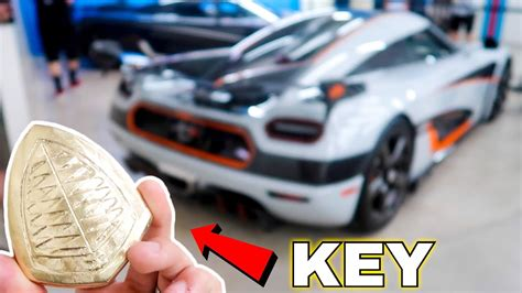 The S Most Car Key Koenigsegg Agera