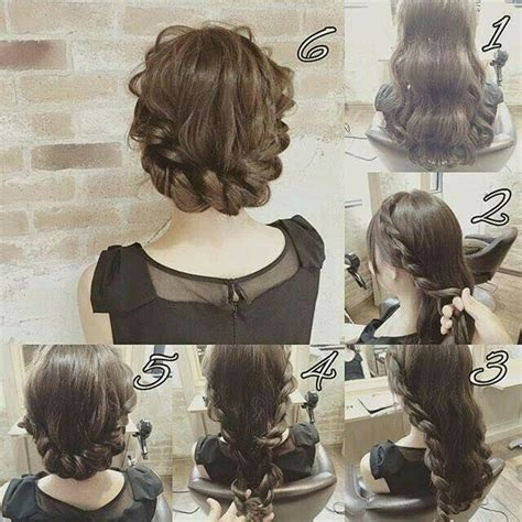 easy sexy updos for shoulder length hair 28 best images about braid hairstyles on pinterest