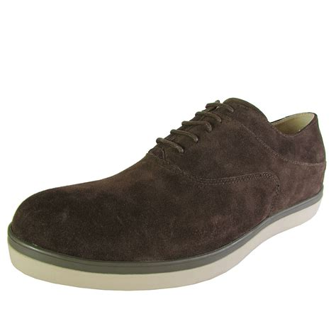 mens oxford lace up shoes fitflop mens lewis suede lace up oxford sneaker shoes ebay