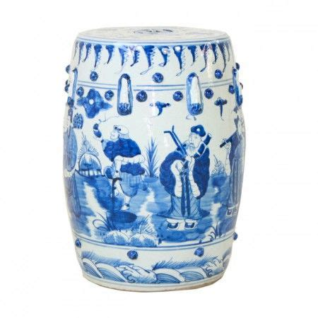 Garden Stool Blue White by Blue And White Garden Stool Home Garden