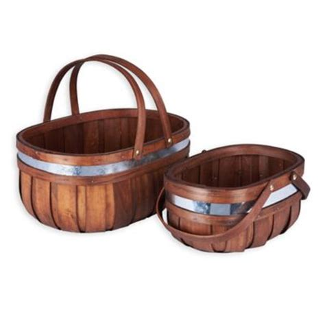 bed bath and beyond baskets buy storage wicker baskets from bed bath beyond