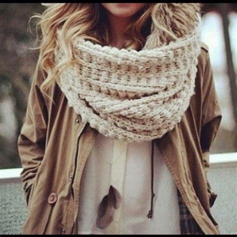 paula bianco chunky infinity scarf in