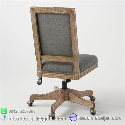 Daftar Kursi Kerja Kayu beli kursi kantor minimalis bahan kayu jati jepara