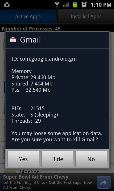 app killer android app killer free android app android freeware