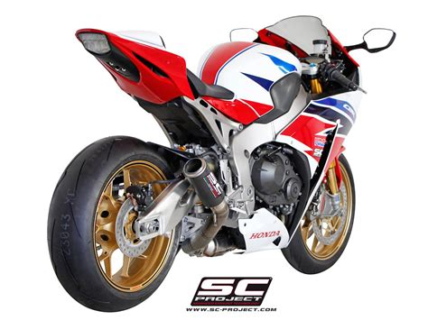 Sc Project Cbr 1000 Carbon Rr Series Titanium 2012 sc project shop honda cbr 1000 rr sp 14 16 cr t silencer