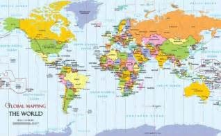 Pics photos world map with countries labeled main