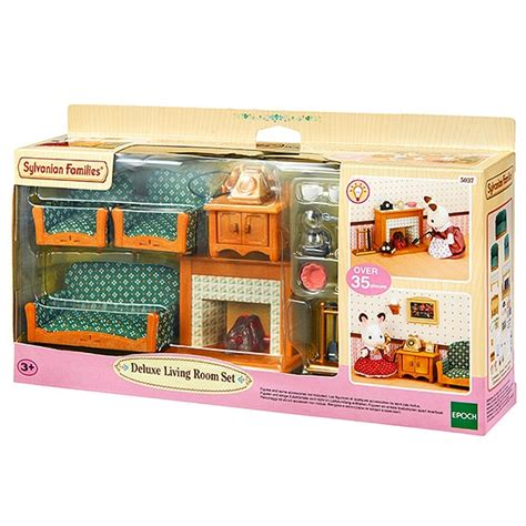 Calico Critters Deluxe Living Room Set by New Sylvanian Families Deluxe Living Room Set Age 3 Ebay