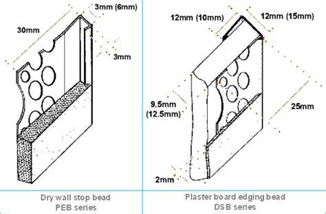 skim stop bead plaster edge bead plaster stop anber wire mesh machine