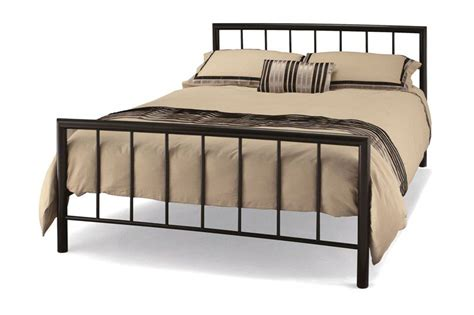 metal bed frame for sale metal bed frame sale metal beds serene modena bed black