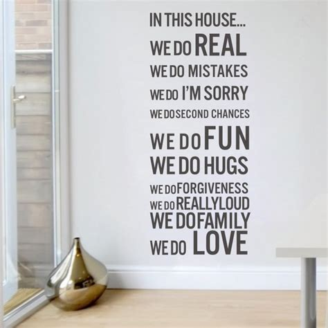 does the army help you buy a house free shipping house rules in this house we do fun love family wall sticker vinyl