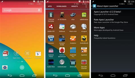 android interface how to bring the kitkat interface to any android with apex launcher 2 2 transparency included