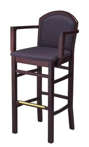 restaurant style bar stools european style restaurant arm bar stool seatingexpert