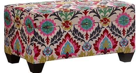 colorful ottoman colorful storage ottomans search home