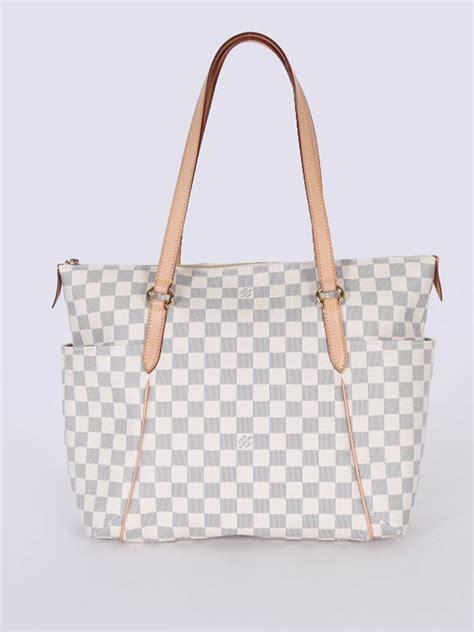 Louis Vuitton Damier Azur Line by Louis Vuitton Totally Gm Damier Azur Canvas Luxury Bags