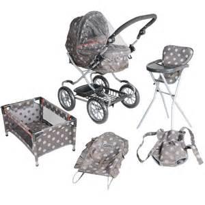 Mamas And Papas High Chair Mamas Amp Papas Graziella Polka Dot Complete Baby Doll Care