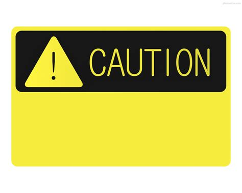 caution sign template best photos of caution sign template sign for caution