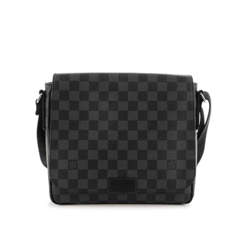 Tas Handbag Montblanc 6306 louis vuitton damier graphite district pm luxity