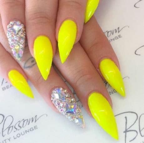 And Yellow Nail Designs yellow nail designs