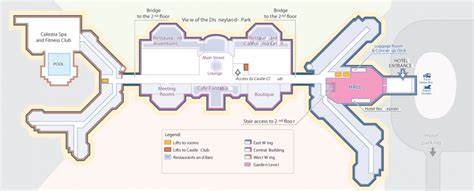 Disneyland Hotel Floor Plan - disneyland hotel hotels for seminars and