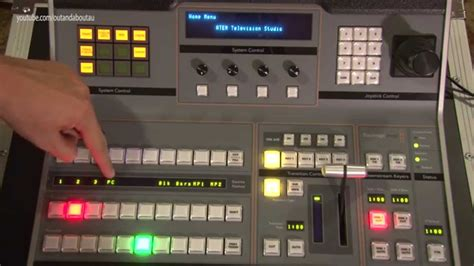 design video blackmagic design atem 1 m e hardware control broadcast