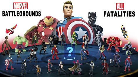 all marvel infinity characters marvel battlegrounds all characters special disney