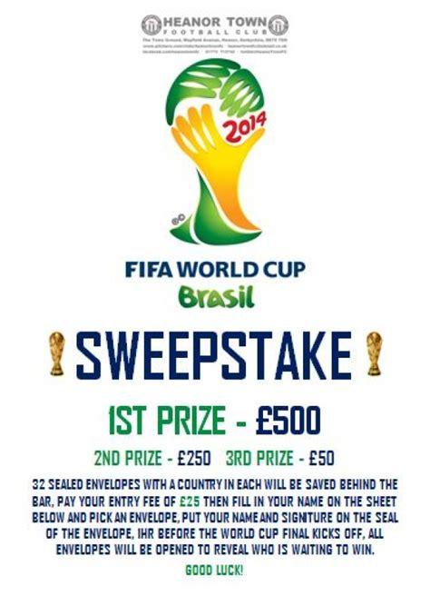 World Cup Sweepstake - world cup sweepstake heanor town football club