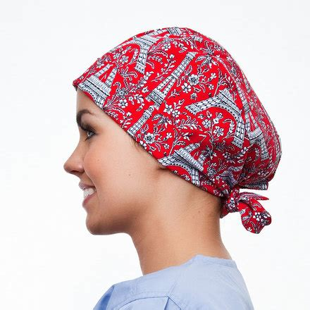 operating room hats pixie scrub hat blue sky scrubs parisian