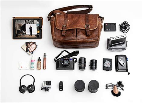 what's in your bag? mark mann empties his brixton