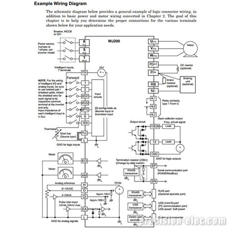 3 phase ac drive wiring diagram get free image about
