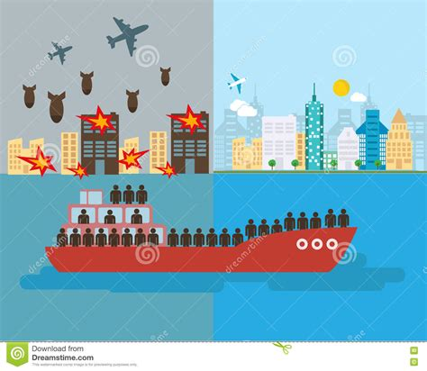 refugee boat clipart refugee boat stock illustrations 120 refugee boat stock