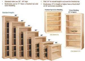 Bookshelves Dimensions Planning A Bookcase Order For The Home