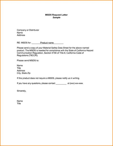 Withdrawal From Lesson Letter Formal Letter Requesting Information