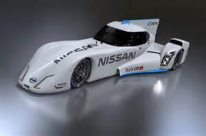 Electric Race Car Engine Nissan Reveals Completed Zeod Rc 2014 Le Mans Racer