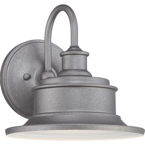 Galvanized Wall Sconce Quoizel Sfd8409gv Galvanized Seaford 1 Light 9 Quot Industrial Outdoor Wall Sconce