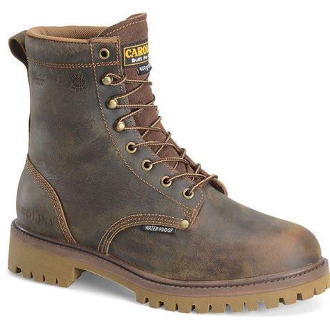 insulated steel toe boots carolina s 8 in waterproof insulated steel toe boots