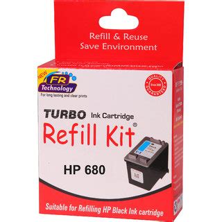 Sun Refill Kit Cartridge Hp 680 buy turbo ink refill kit for hp 680 black ink cartridge