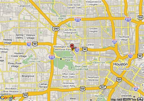 houston map downtown streets map of scottish inns westcott houston