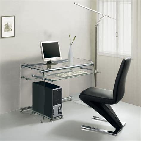 large glass computer desk glass computer desk boxey large clear
