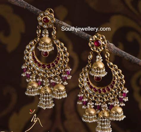 jewelry and design beautiful polki chandbalis jewellery designs