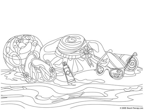 hard beach coloring pages beach coloring pages