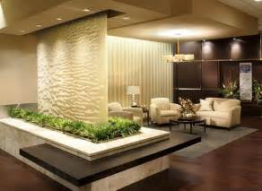 Waterfall Decoration For Homes by Indoor Glass Waterfall Design As Element Of Decoration