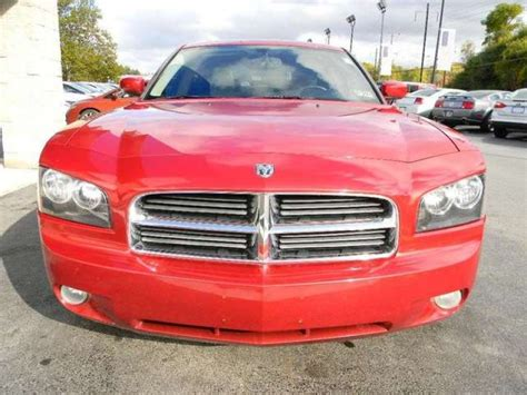 buying a used dodge charger dodge charger r t hemi 2006 used for sale