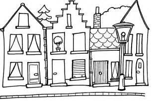 House Coloring Pages sketch template